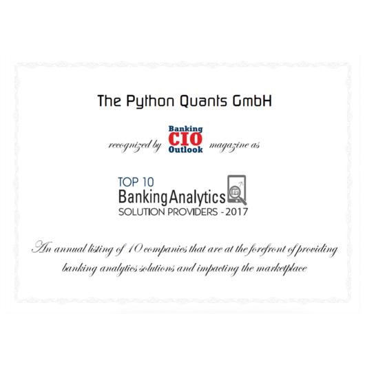 The Python Quants Group